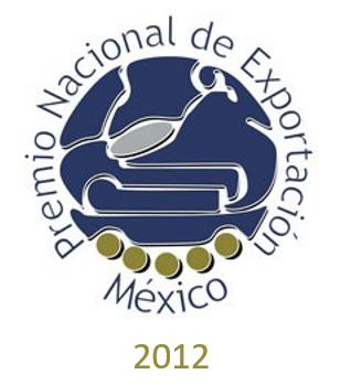 Premio Nacional de Exportación 2012