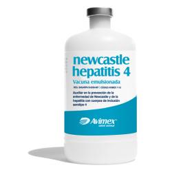 newcastle hepatitis 4 vacuna emulsionada