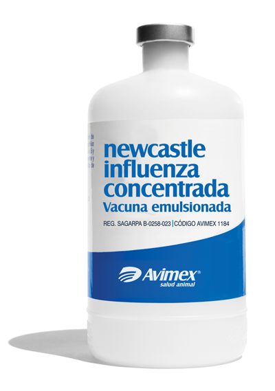 newcastle influenza concentrada vacuna emulsionada