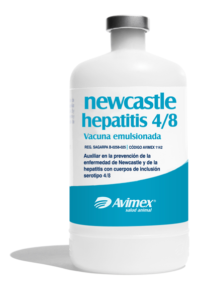 newcastle hepatitis 4/8 vacuna emulsionada