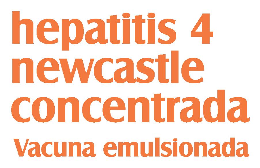 hepatitis 4 newcastle concentrada vacuna emulsionada