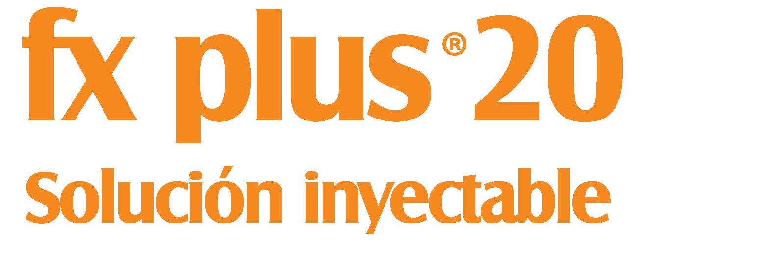fx plus® 20 solución inyectable